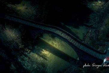 Το πανέμορφο γεφύρι της Βέργας στον Βάλτο (φωτό)