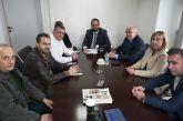 Συνάντηση Λύρου – Φαρμάκη: Σε καλό δρόμο η λύση για το κλειστό γήπεδο μπάσκετ του ΔΑΚ Μεσολογγίου