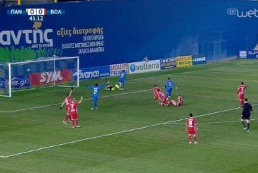 Παναιτωλικός – Βόλος: Το 1-0 με το παρθενικό γκολ του Μουνιέ