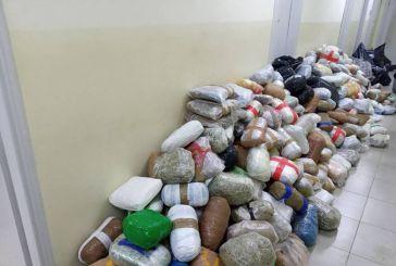 Θεσπρωτία: 793 κιλά χασίς κρυμμένα σε φορτηγό