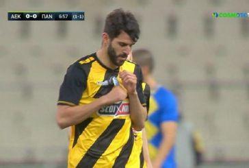 ΑΕΚ – Παναιτωλικός: 2-0 με Κρίστισιτς, Ολιβέιρα