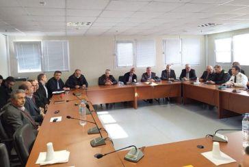 Σύσκεψη για τον κορωνοϊό παρουσία των εμπλεκομένων φορέων από τη Δυτική Ελλάδα
