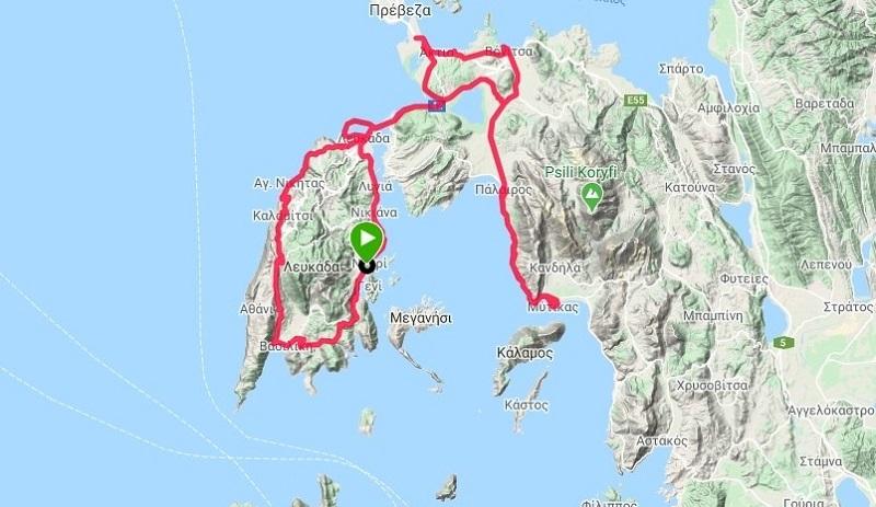 Για 3η χρονιά η ποδηλατική διοργάνωση 200km σε Λευκάδα και Αιτωλοακαρνανία