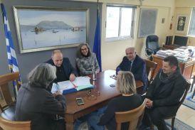 Λιμνοθάλασσα και εκτροπή Αχελώου στην ατζέντα της συνάντησης Λύρου – Σακοράφα