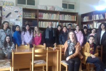 Το Καλλιτεχνικό Γυμνάσιο Μεσολογγίου στη Βάλβειο Δημοτική βιβλιοθήκη