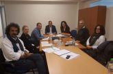 Συνάντηση εργασίας του Αντιπεριφερειάρχη για τα έργα εδαφικής συνεργασίας, INCUBA και BALKANET
