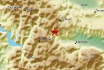 Σεισμός 3,3 Ρίχτερ κοντά στο Καρπενήσι