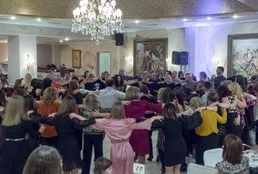 Αστείρευτο κέφι στο χορό του Λαογραφικού Ομίλου της ΓΕΑ (φωτο)