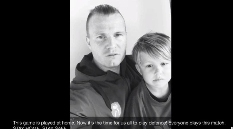 Οι παίκτες του Παναιτωλικού μας παροτρύνουν να μείνουμε σπίτι (βίντεο)