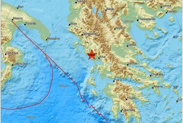 5,6 ρίχτερ ταρακούνησαν τη Δυτική Ελλάδα