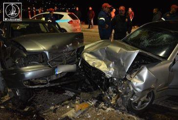 Αμφιλοχία: στο νοσοκομείο δύο γυναίκες από σφοδρή σύγκρουση οχημάτων στην παραλία