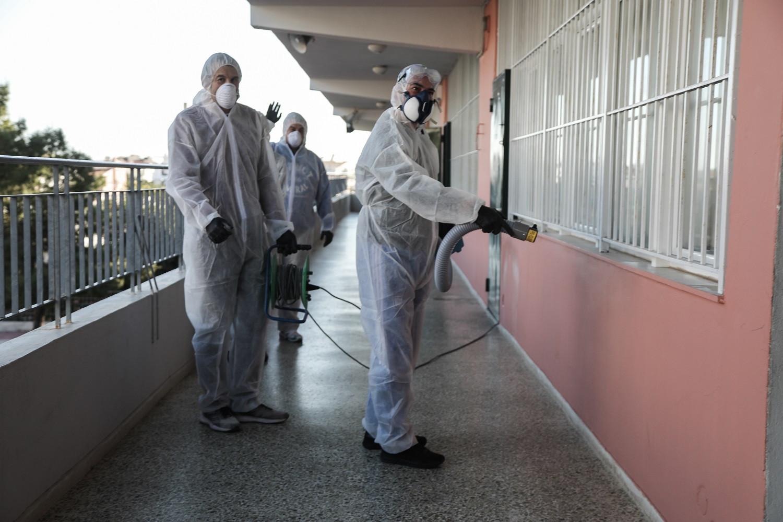 Κορωνοϊός: Προληπτική απολύμανση σε σχολεία, παιδικούς σταθμούς και αθλητικούς χώρους του δήμου Αγρινίου