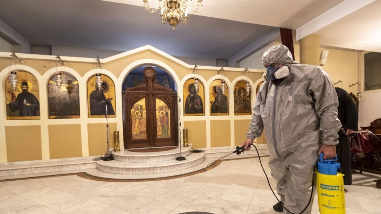 Κορωνοϊός: Ολόκληρη η απόφαση για τις εκκλησίες – Ένας πιστός ανά 10 τ.μ.