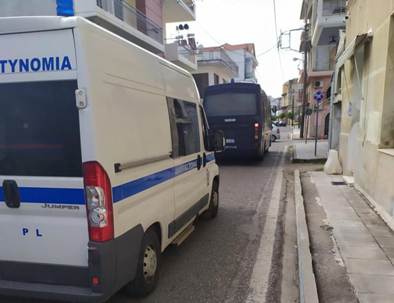 Είκοσι αστυνομικοί από την Διεύθυνση Αιτωλίας έφυγαν για Έβρο