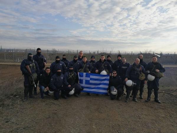 Ηθικόν ακμαιότατον για τους Αιτωλοακαρνάνες αστυνομικούς στον Έβρο