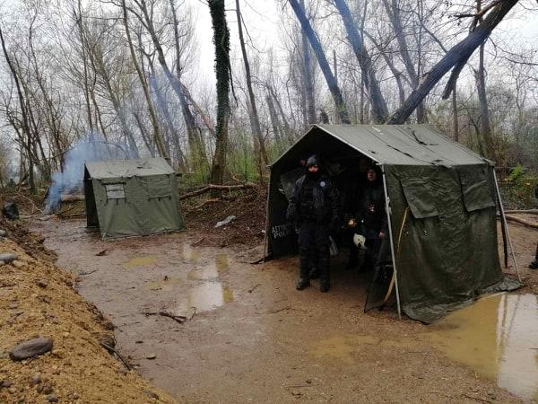 Έβρος: Στην πρώτη γραμμή φύλαξης των συνόρων οι Αστυνομικοί από το Αγρίνιο  (φωτο)
