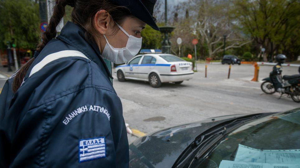 Κορονοϊός: πρόστιμα σε οκτώ πεζούς σήμερα στο Αγρίνιο, βαριά καμπάνα σε ιδιοκτήτη ψησταριάς στον Βάλτο