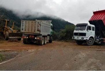 Ορεινή Ναυπακτία: Εργασίες από Ελευθέριανη προς Πόδο