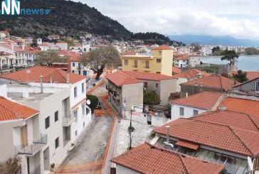 Δήμος Ναυπακτίας: Προχωρούν τα έργα ανάπλασης στην οδό Ν. Μπότσαρη (βίντεο)
