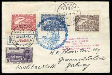 Παρουσίαση της ΦEA: Σιδηροδρομικές και αεροπορικές διαδρομές Αιτωλοακαρνανίας με το Γραμματόσημο