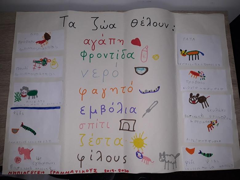 Σε σχολεία της Γραμματικούς και της Γαβαλούς η Φιλοζωική Οργάνωση Αγρινίου