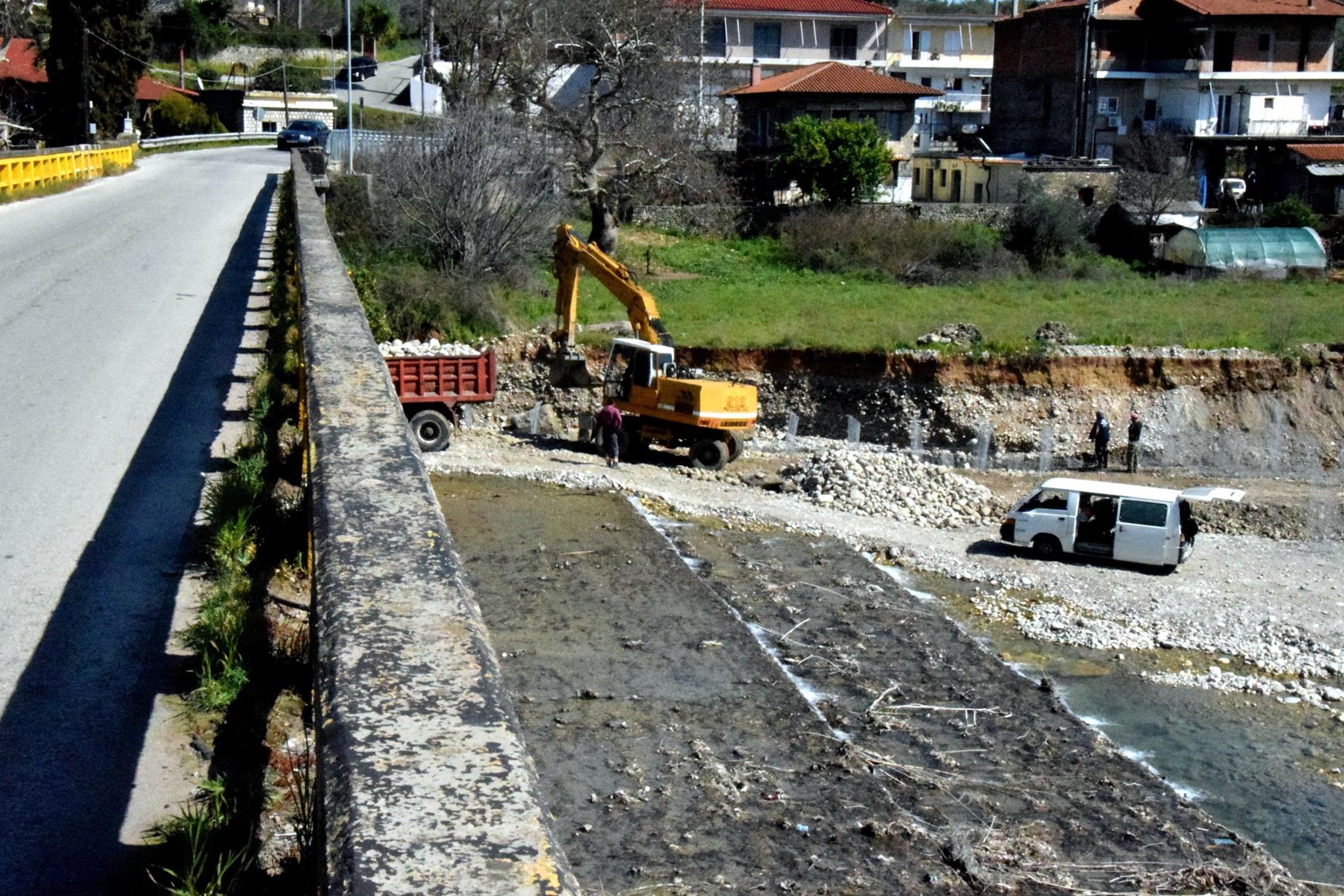 Ολοκληρώθηκε το έργο συντήρησης στη γέφυρα της Αβόρανης