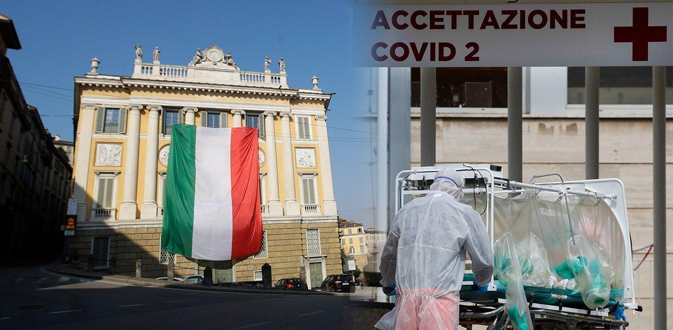 Κορονοϊός Ιταλία: 760 νεκροί σήμερα – Ξεπέρασαν τα 13.900 τα θύματα