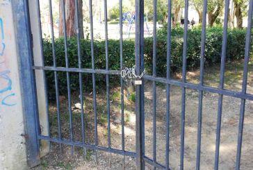 """""""Σφραγίστηκε"""" και το πάρκο του Αγρινίου για  κορωνοϊό"""