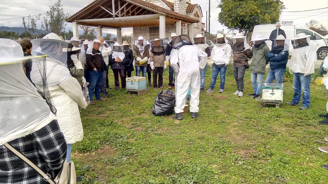 Με 121 συμμετέχοντες το σεμινάριο μελισσοκομίας του Ι.Ν. Αγίου Δημητρίου στο Αγρίνιο (φωτο)