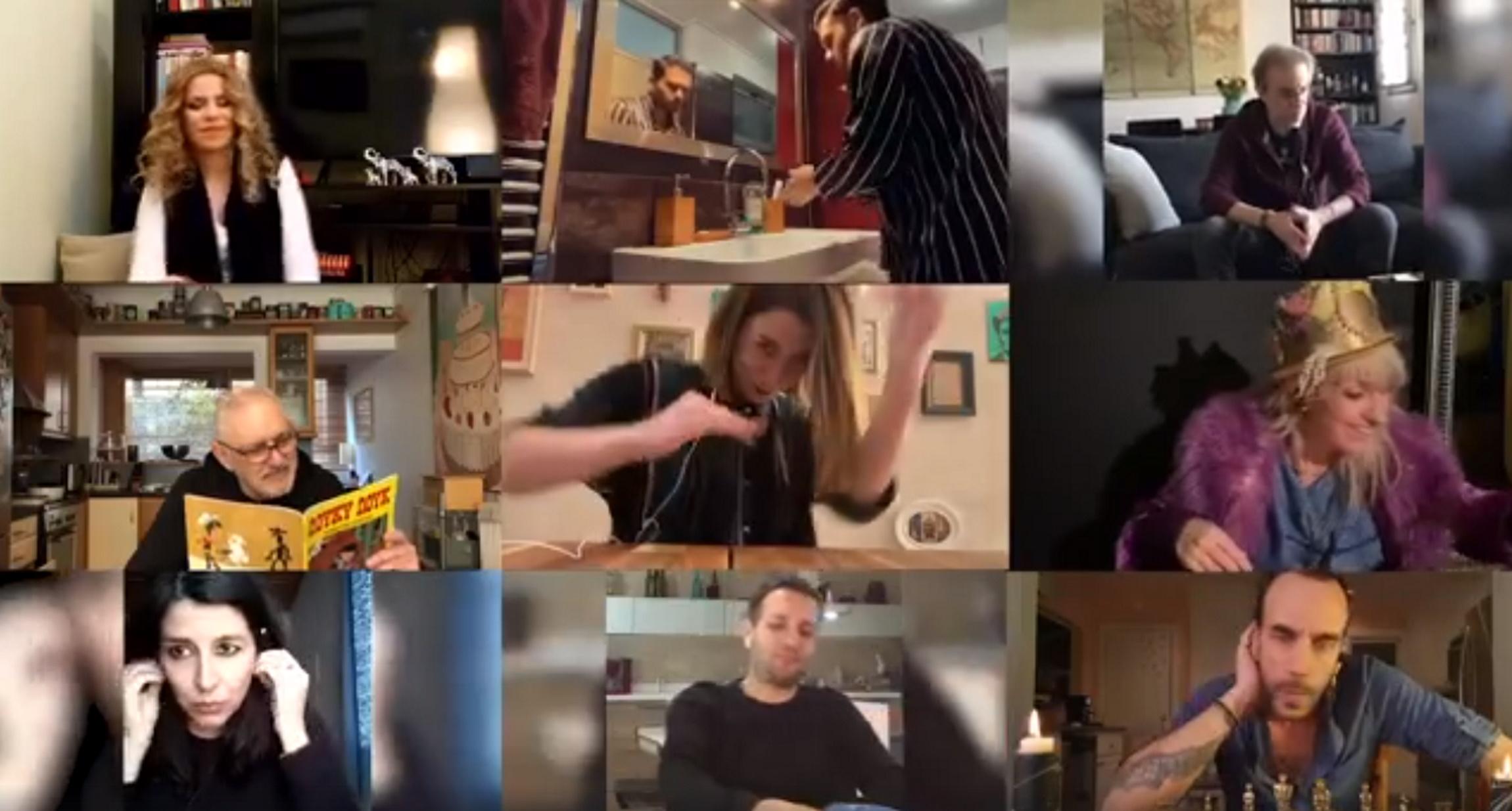 Κυριάκος Μητσοτάκης: «Μένουμε σπίτι» με Κηλαηδόνη και… το μισό ελληνικό πεντάγραμμο! Βίντεο