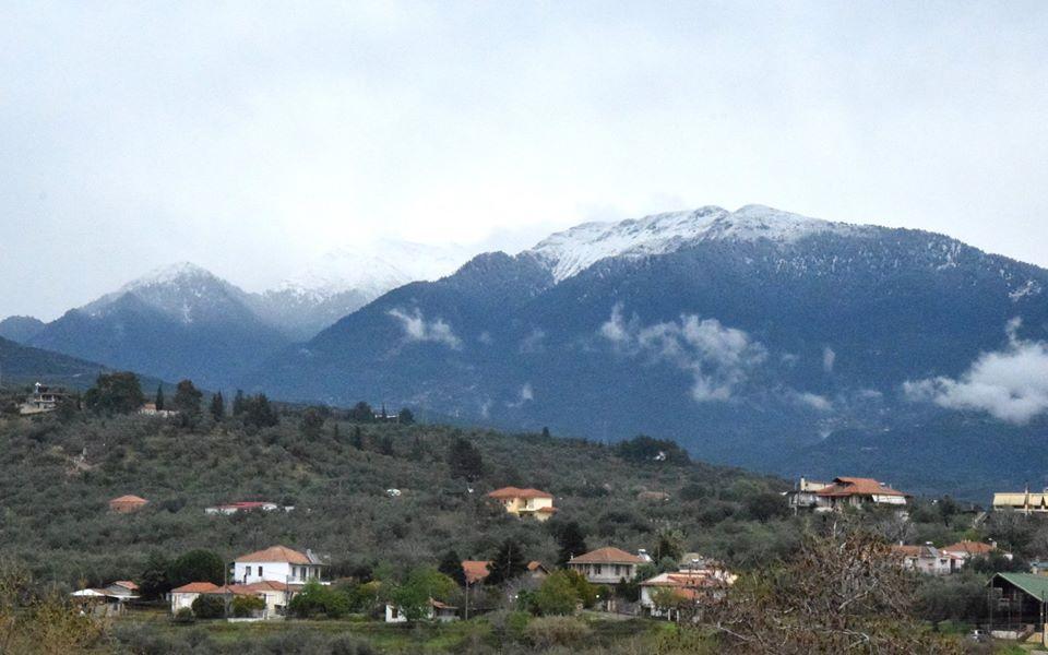 Χιόνια στο Παναιτωλικό Όρος