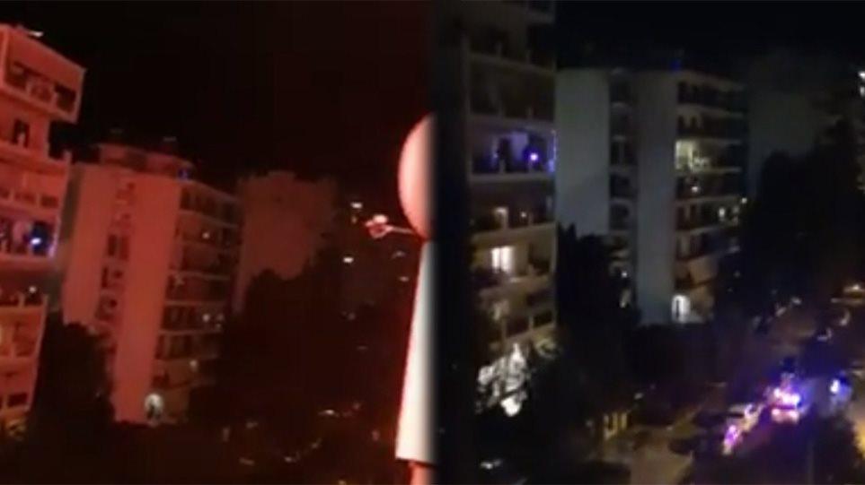 Κορωνοϊός – Παλαιό Φάληρο: Πώς στήθηκε το «πάρτι» στο μπαλκόνι με dj και πυροτεχνήματα