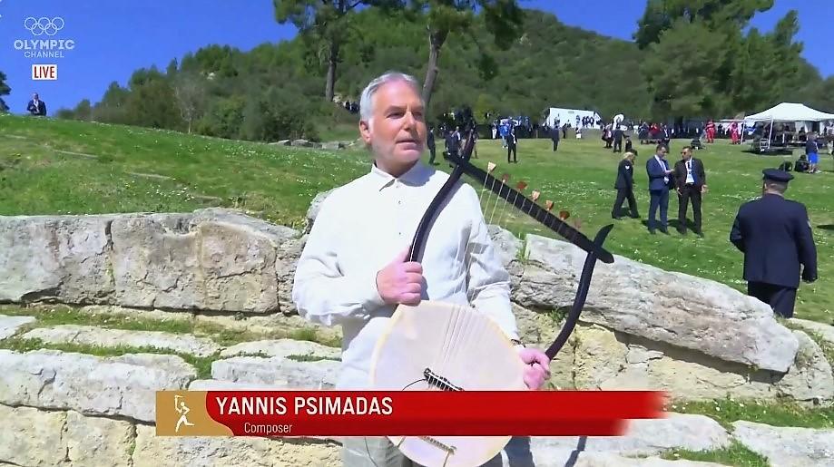 Με τη μουσική του Παναιτωλιώτη συνθέτη Γιάννη Ψειμάδα η Τελετή Αφής της Ολυμπιακής Φλόγας