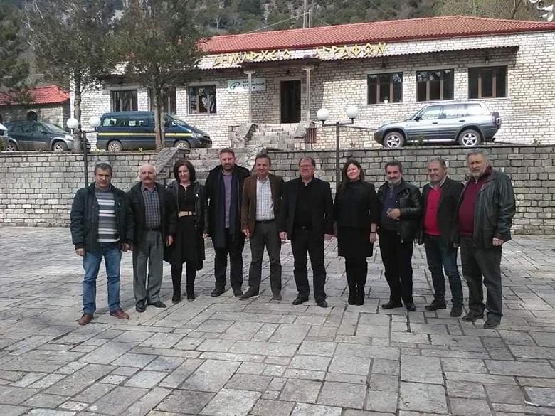 Συνάντηση εργασίας με μεγάλη ατζέντα των Δημάρχων Αγράφων, Αργιθέας και Λίμνης Πλαστήρα