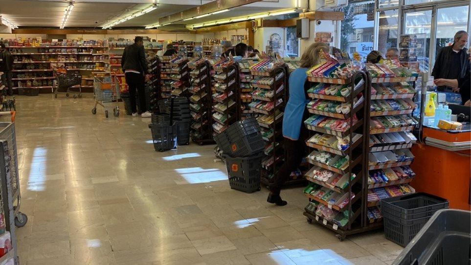 Κορωνοϊός – Υπ. Ανάπτυξης: Τα σούπερ μάρκετ δεν κλείνουν – Υπάρχει επάρκεια