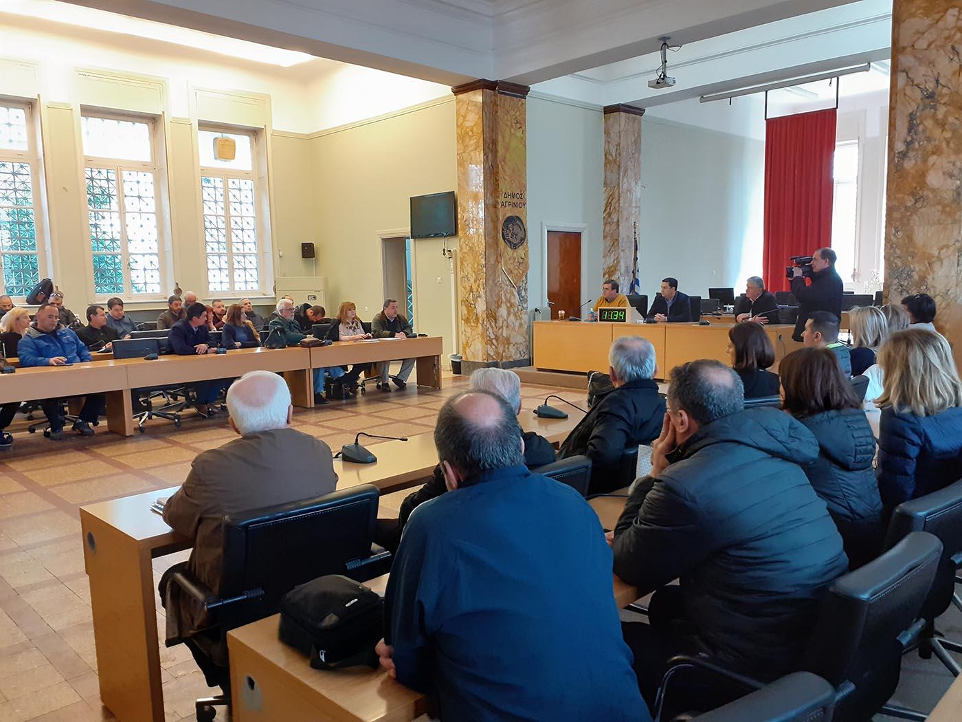 Aναστέλλει εώς και τη Δευτέρα τις εκδηλώσεις ο δήμος Αγρινίου