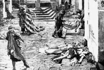 """1854: Η χολέρα """"θερίζει"""" Αιτωλοακαρνανία -Αγρίνιο ξεπερνώντας τους  1200 νεκρούς"""