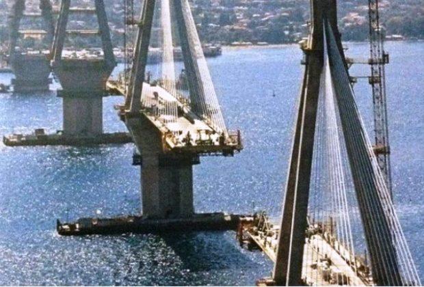 Η φωτογραφία της γέφυρας Ρίου – Αντιρρίου που έγινε viral λόγω… κορωνοϊού!