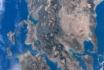 Η Αιτωλοακαρνανία από το διάστημα…