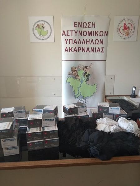Ένωση Αστυνομικών Ακαρνανίας: Προμηθεύτηκε μάσκες και γάντια για τα μέλη της