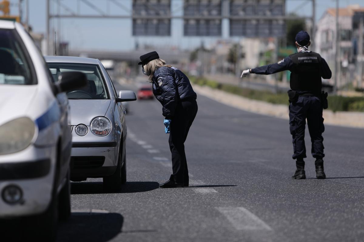 Υπάκουσαν στην πλειοψηφία τους στα μέτρα απαγόρευσης κυκλοφορίας οι Έλληνες