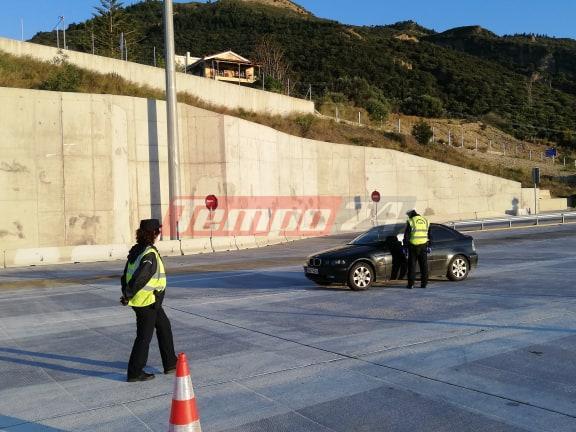 """Ολύμπια Οδός: Μπλόκα στους απείθαρχους και """"καμπάνες"""" των 300 ευρώ"""