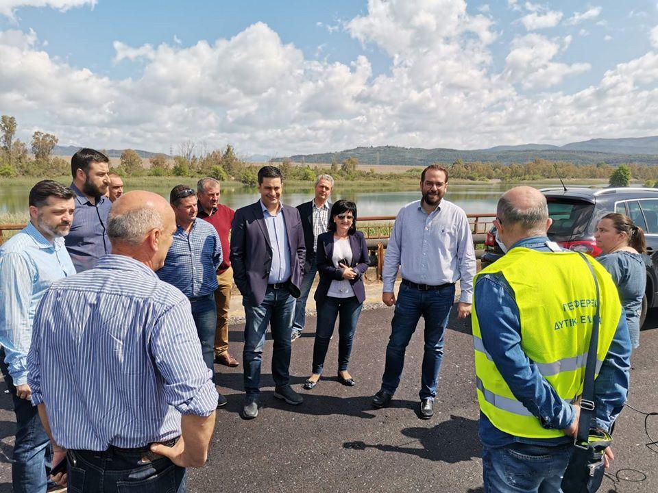 Φαρμάκης: η γέφυρα Αχελώου θα αποκτήσει και πάλι τη θέση που της αξίζει