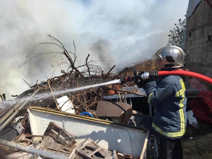 Ναύπακτος: Πυρκαγιά μικρής έκτασης στην περιοχή του ΣΚΑ