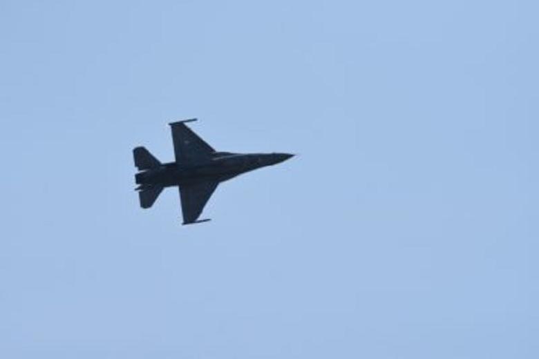 Με διέλευση F-16 πάνω από το Μεσολόγγι η Πολεμική Αεροπορία τίμησε και φέτος την ηρωική Έξοδο