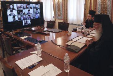 Ιερώνυμος: Κεκλεισμένων των θυρών οι ακολουθίες τη Μ. Εβδομάδα