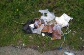 Ντροπή! Χρησιμοποιημένο υγειονομικό υλικό πεταμένο στην περιοχή Αγίας Βαρβάρας Αγρινίου!
