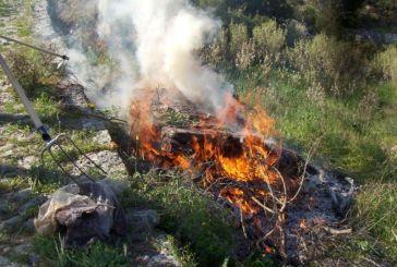 Περιορισμοί στην καύση αγροτικών εκτάσεων από την 1η Μαΐου