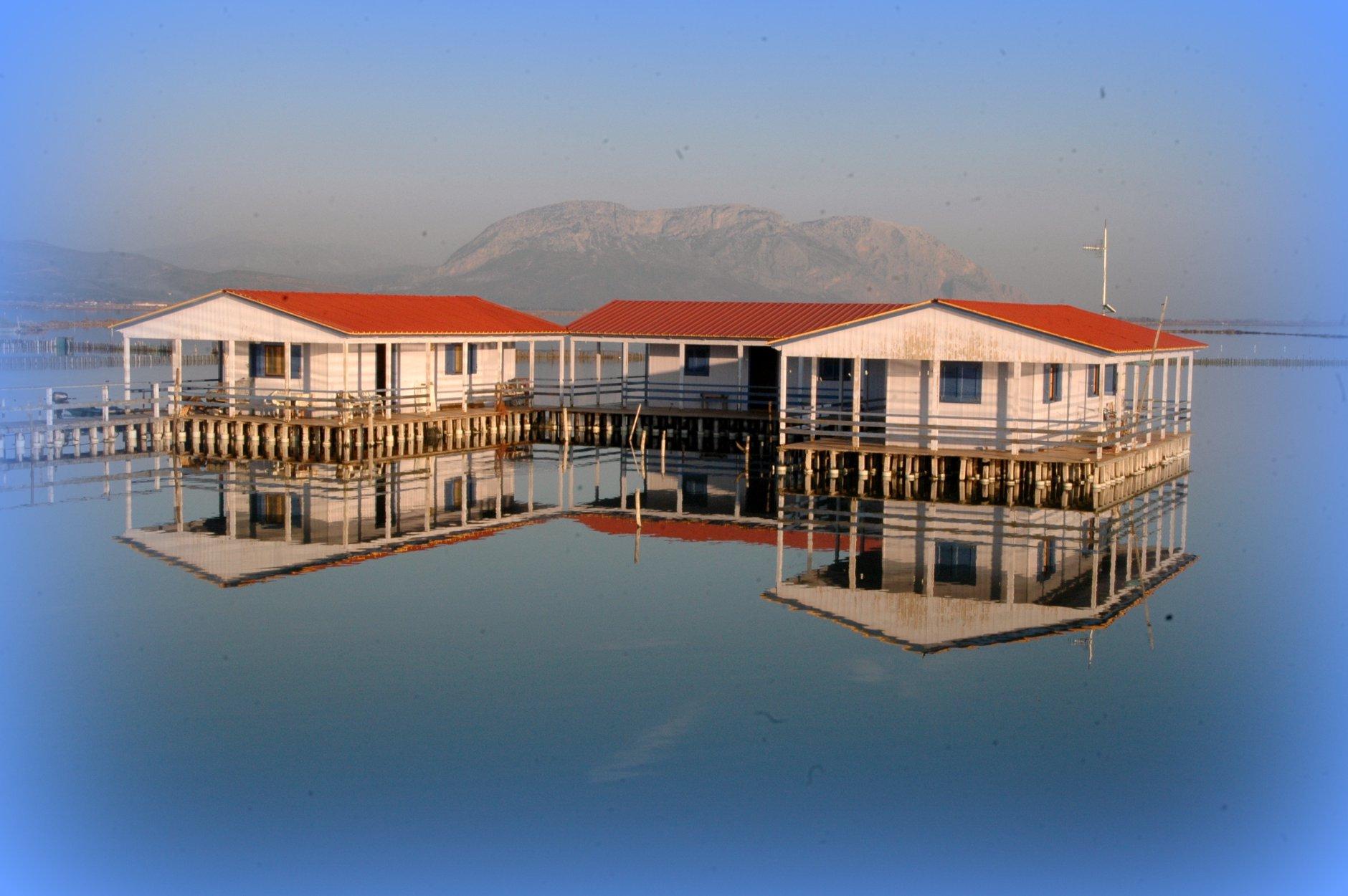 Yπέροχες λήψεις από τη λιμνοθάλασσα Μεσολογγίου
