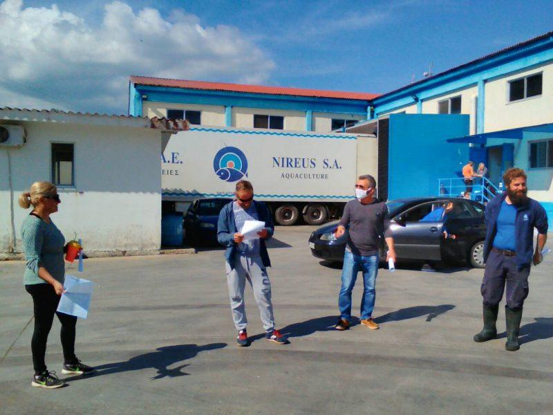 Σε προειδοποιητική απεργιακή κινητοποίηση προχωρούν οι εργαζόμενοι του «Νηρέα»